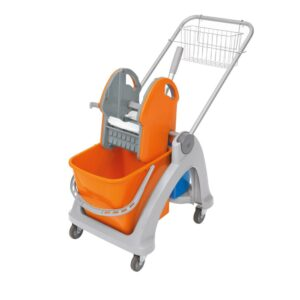 Single plastic trolleys