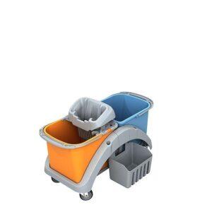 Mopwagen kunststof 2x20 liter TS2-0016